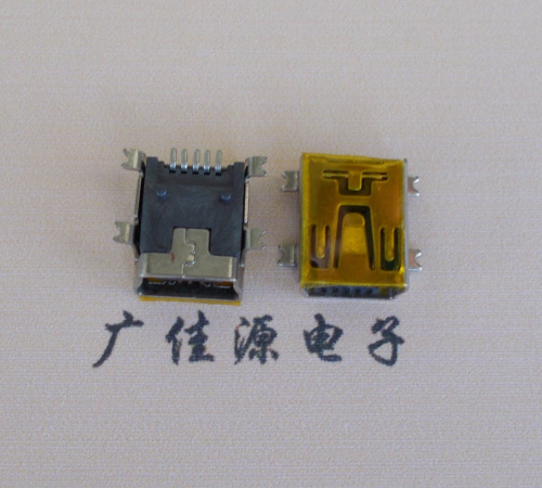 Mini USB 5PIN接口母座